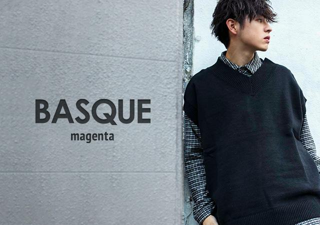 【BASQUE magenta】公式オンラインストアがOPENしました!!