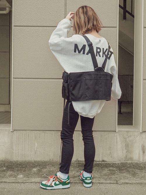 ストリートスタイルに最適なベスト型バッグ