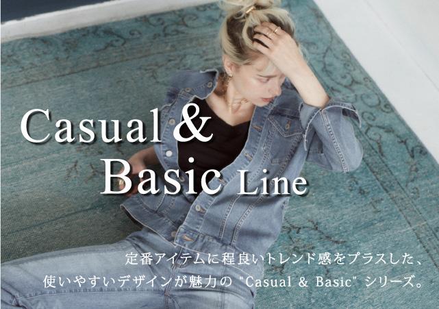 定番人気のCasual & Basic LINE