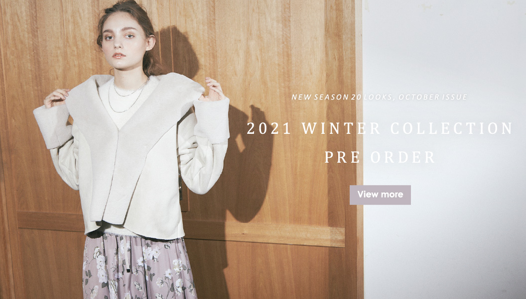 2021 WINTER COLLECTION PRE-ORDER