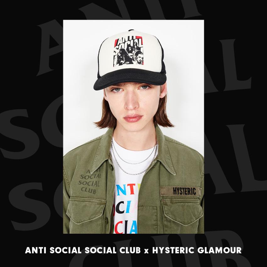 ANTI SOCIAL SOCIAL CLUB × HYSTERIC GLAMOUR
