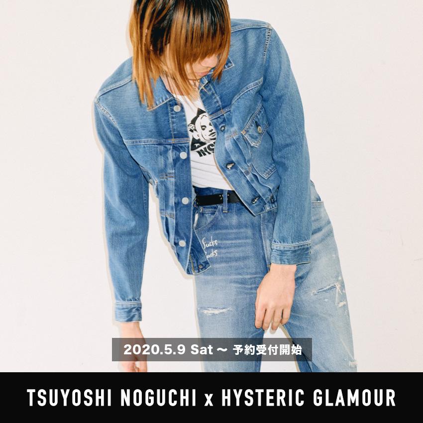 TSUYOSHI NOGUCHI × HYSTERIC GLAMOUR