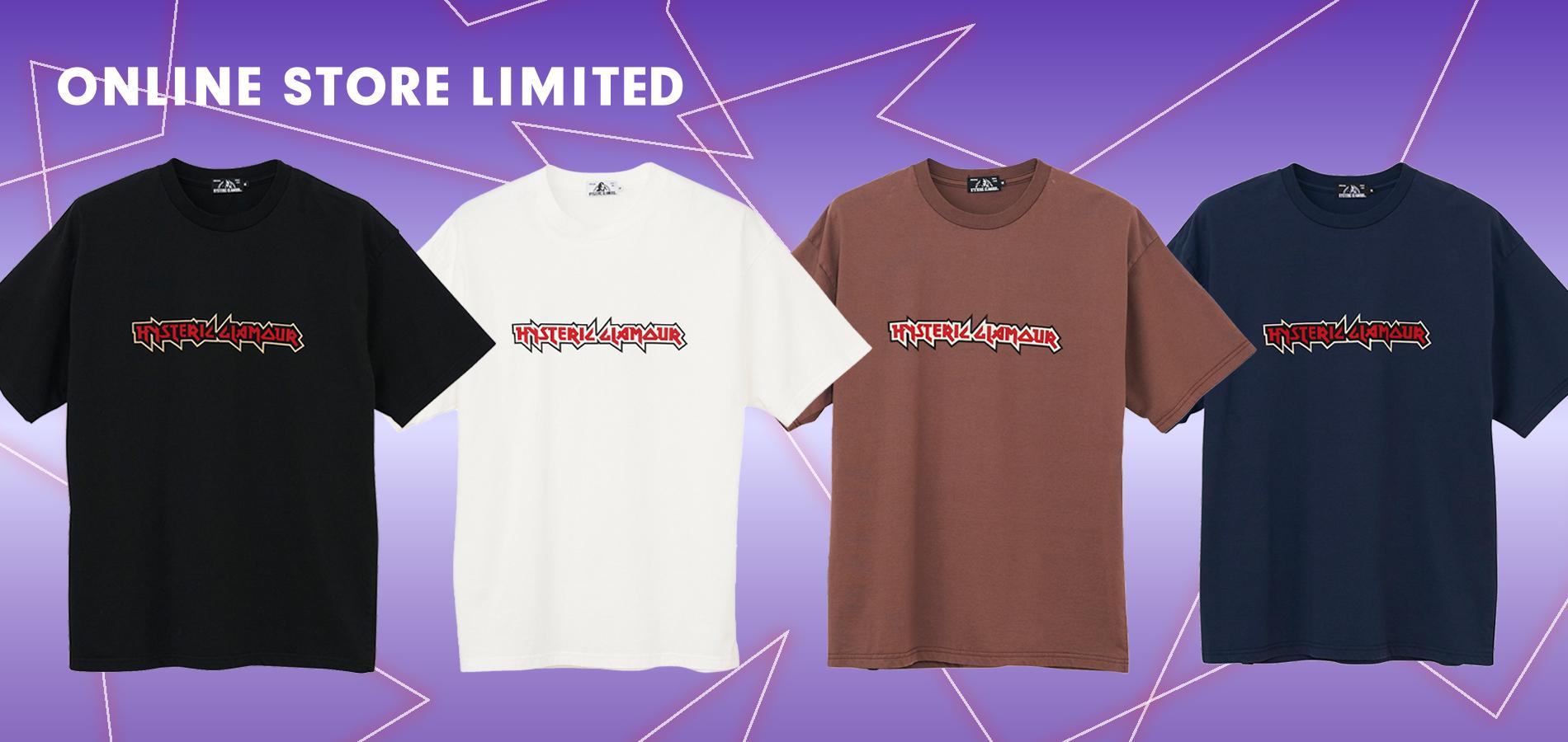 ONLINE STORE限定 HYS LOGO Tシャツ