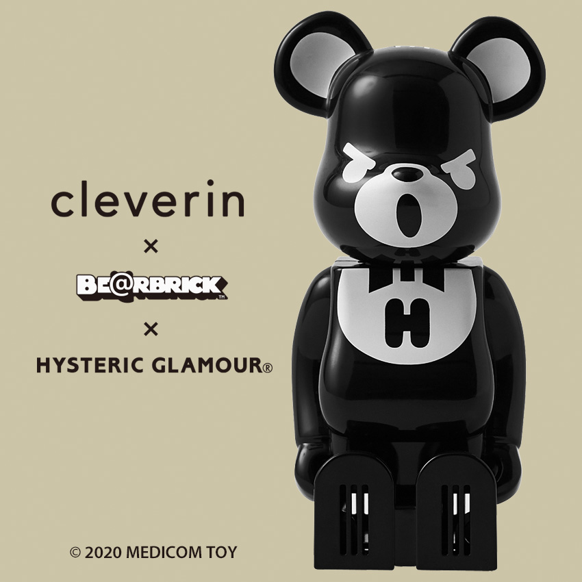 cleverin × BE@RBRICK × HYSTERIC GLAMOUR