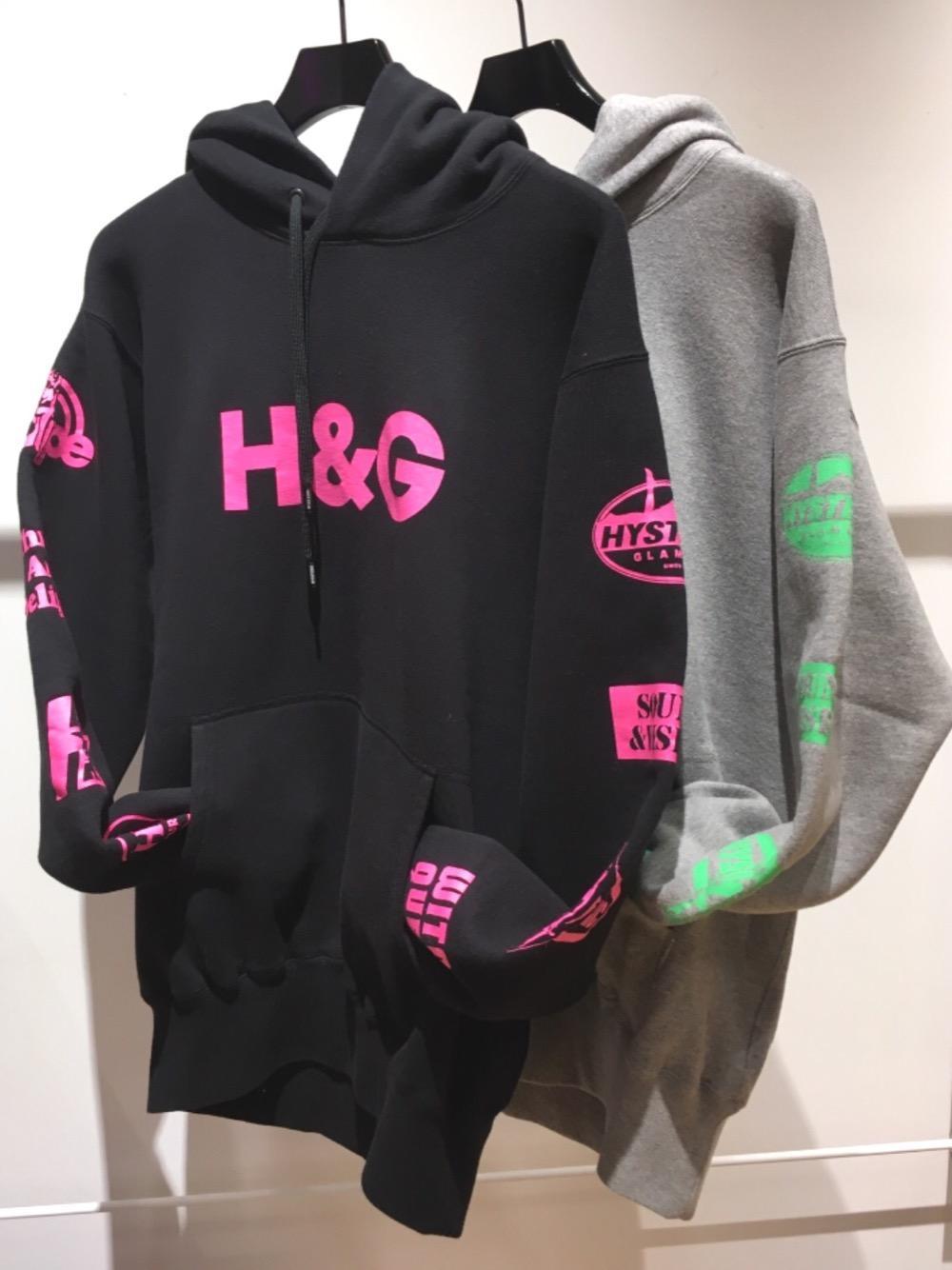 H&G パーカー