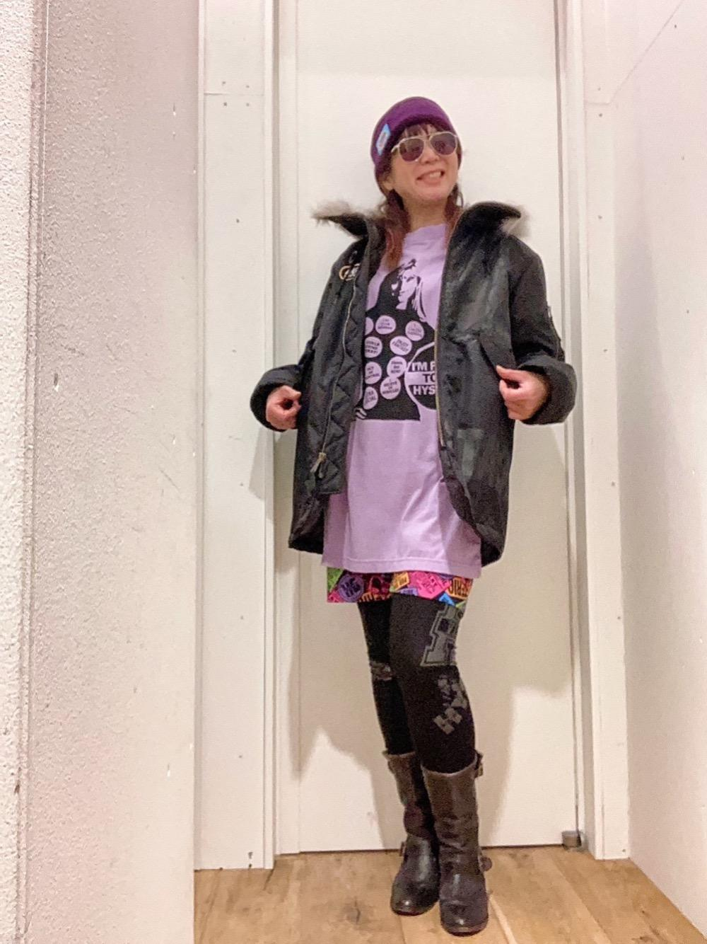 プラウド トゥ ビ 紫
