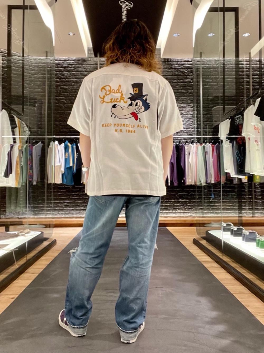 ヒステリックグラマーボーリングシャツ