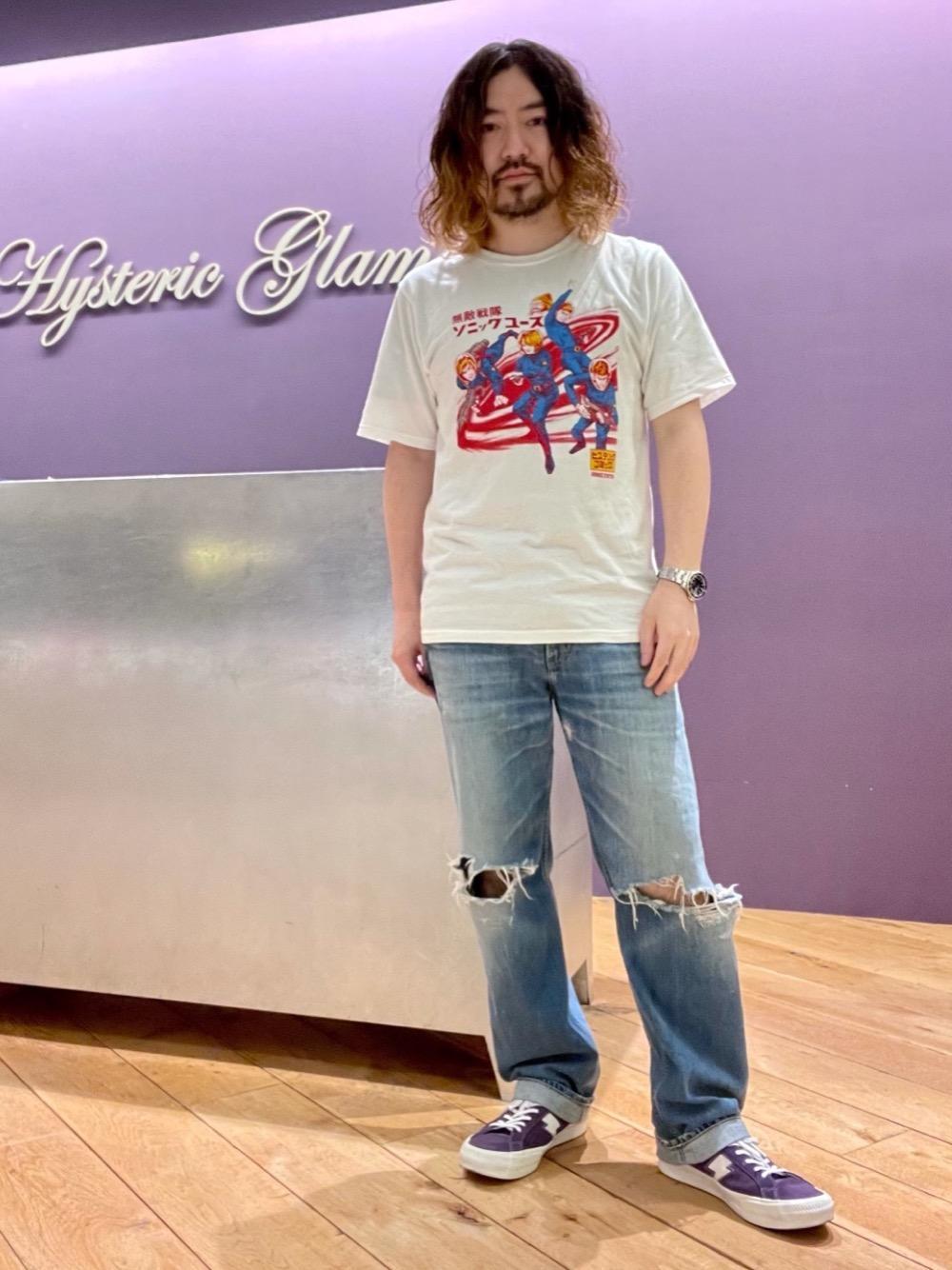 ヒステリックグラマーバンドTシャツ
