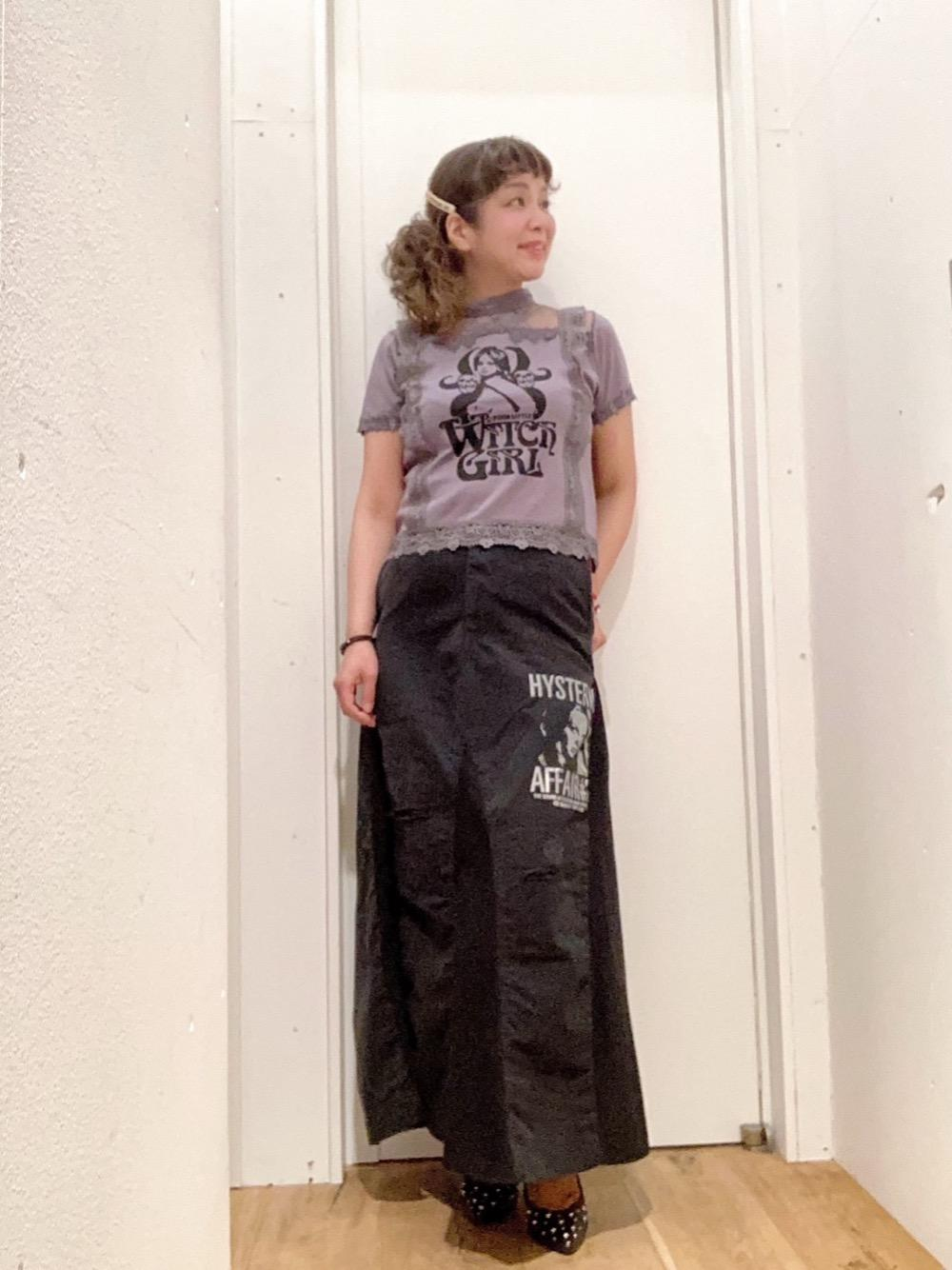 黒チノリメイクスカート