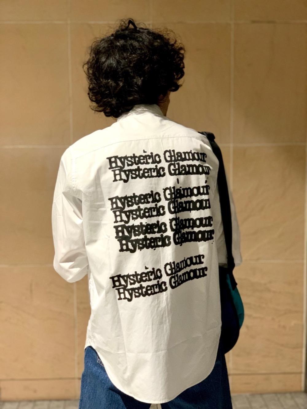 TYPELOGOプリントシャツ