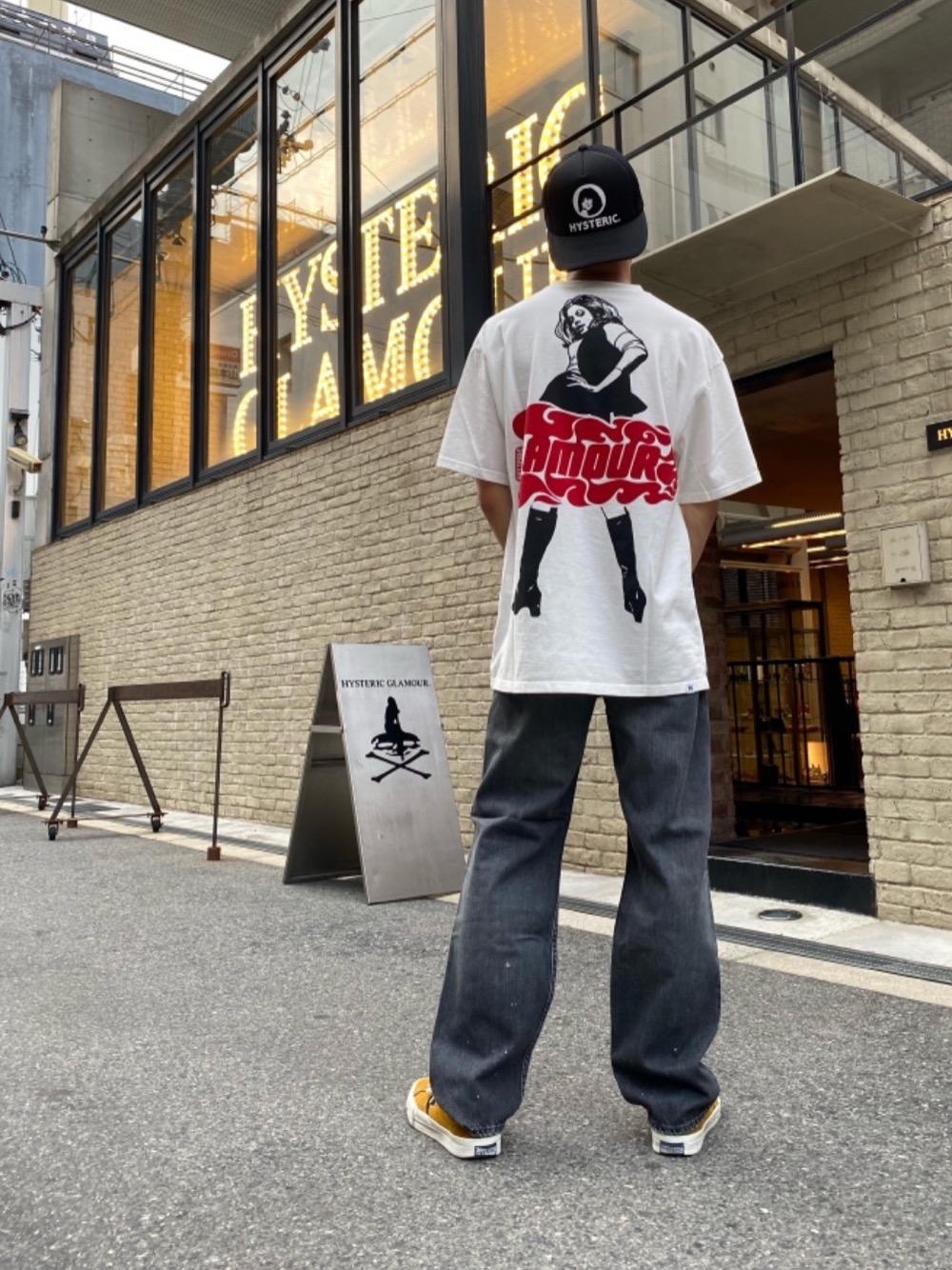 ヒステリックグラマー VIXEN GIRL オーバーサイズTシャツ
