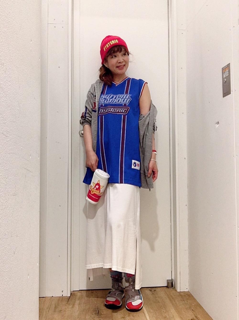オトナ女子のバスケタンク