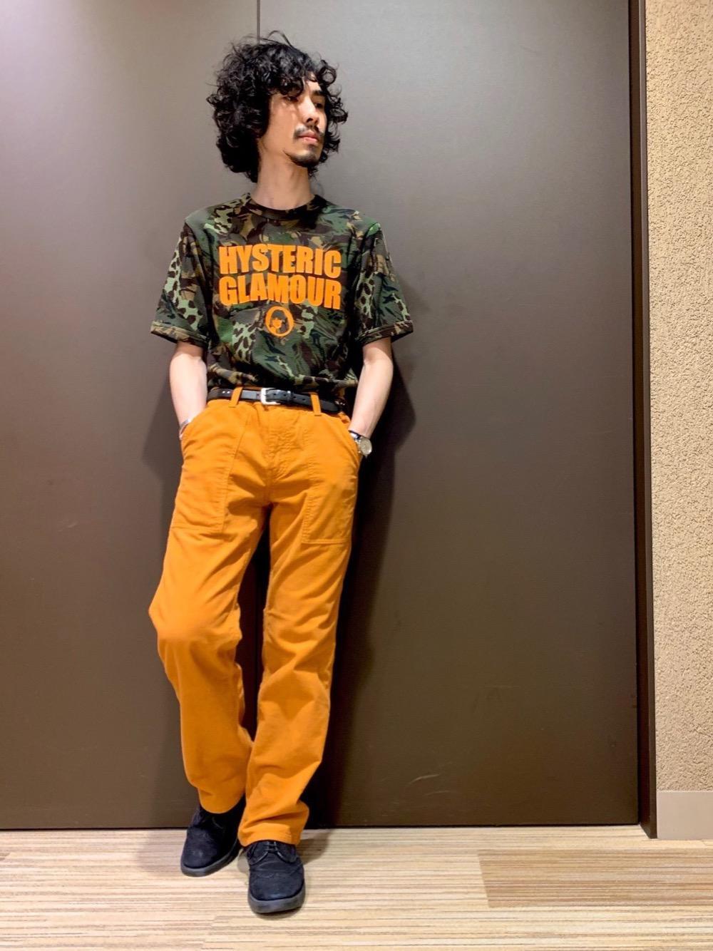 CAMO柄Tシャツ