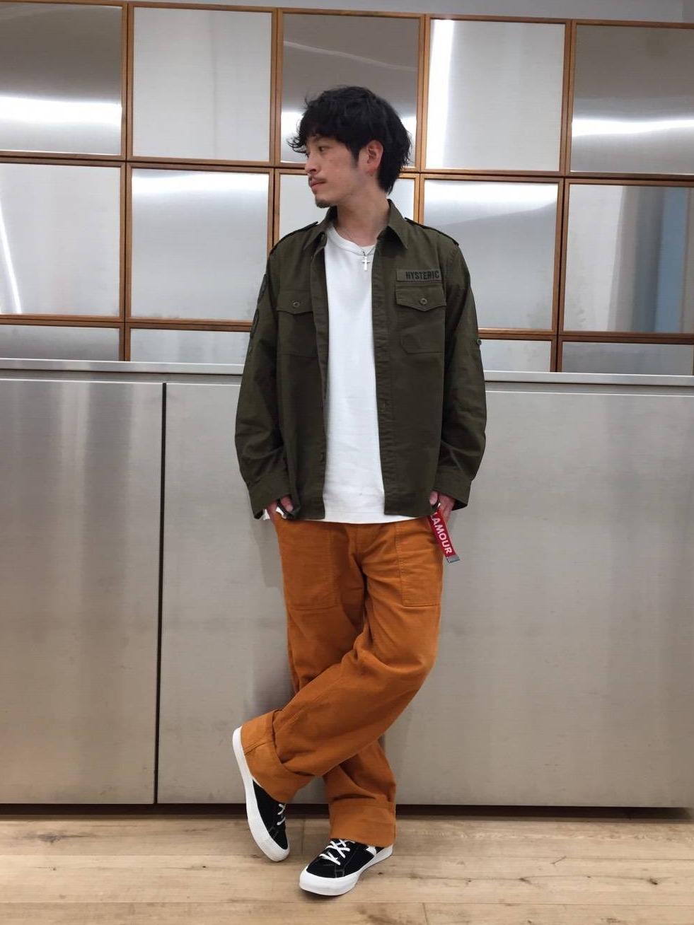 LUCUA大阪店定商品発売のお知らせ 「ROCK AGENTアップリケ ミリタリーシャツ 」 価格:¥26,400(税込) サイズ:S/M/L カラー:KHAKI 8/28(金)発売です。完全数量限定ですのでお見逃しなく!!! 通信販売も承っております。