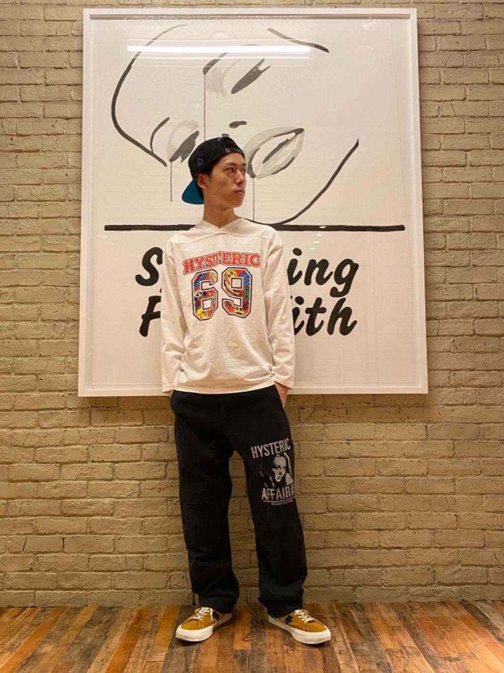 HYSTERIC GLAMOUR ロンT