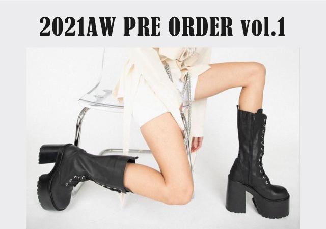2021AW PRE ORDER vol.1