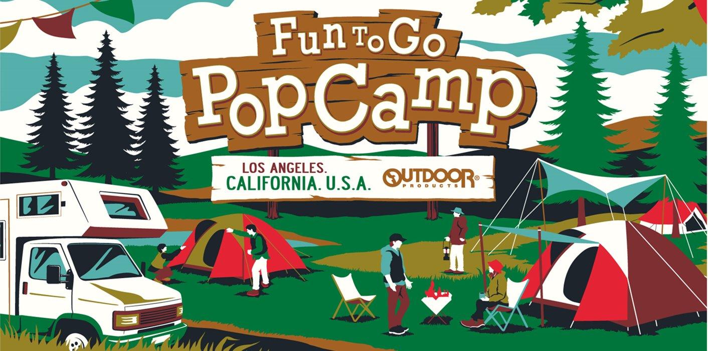 【Fun To Go Pop Camp】 夏の新作アイテム入荷しました!