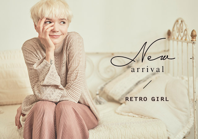 RETRO GIRLの新作アイテム続々入荷♪