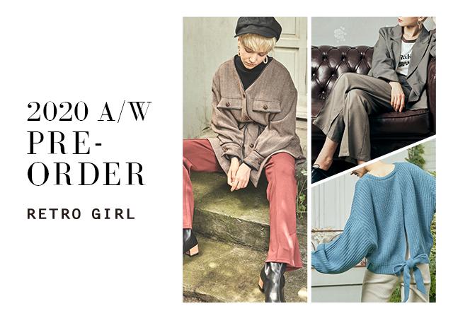 RETRO GIRL 2020 AW PRE-ORDER★