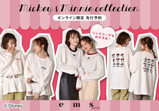 【オンライン限定先行予約】Mickey & Minnie Collection♪