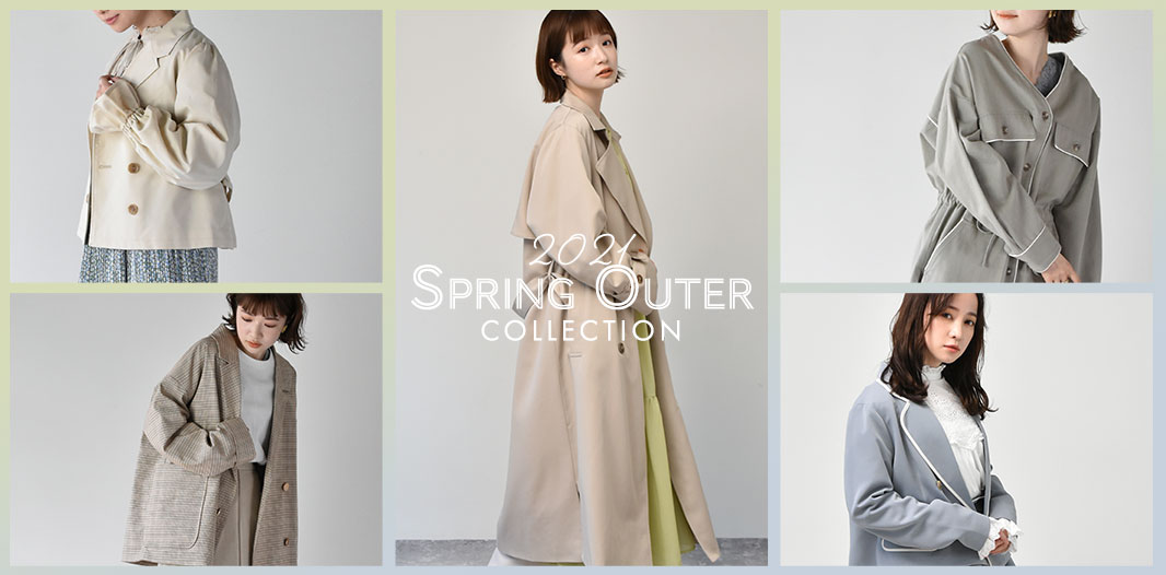 SPRING OUTER COLLECTION!