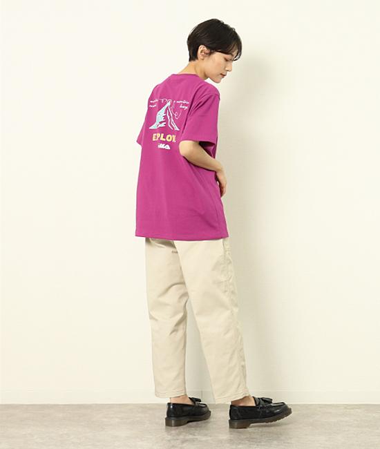 BTS着用モデル 【FILA】Tシャツ着てみました♪その1
