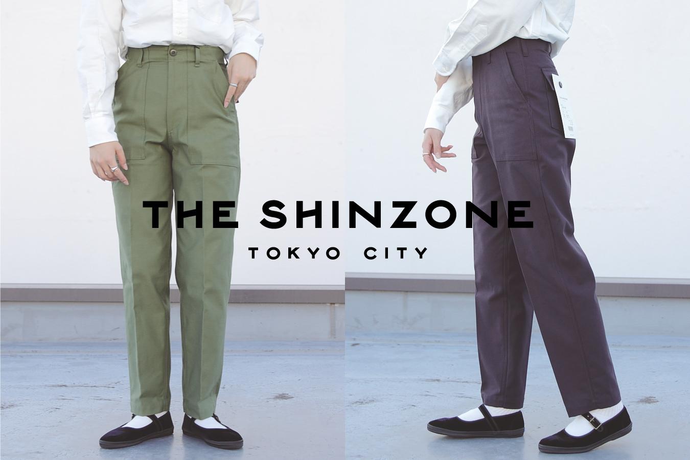 """【おすすめ】THE SHINZONE/ベーカーパンツ """"上品カジュアルコーデ""""にオススメ。"""