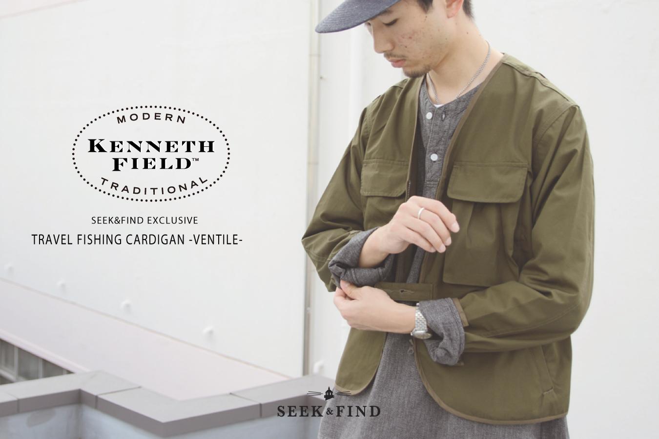 【Special Item/KENNETH FIELD×SEEK&FIND】