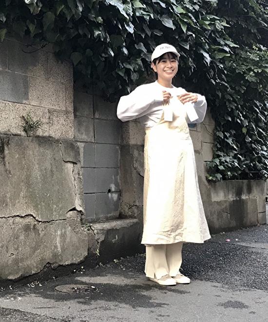 WHITE×ワントーンコーデ
