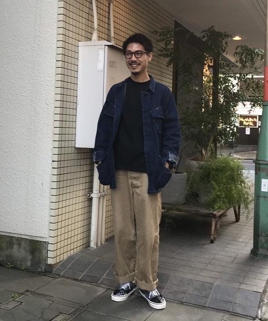 秋コーデ×軍物