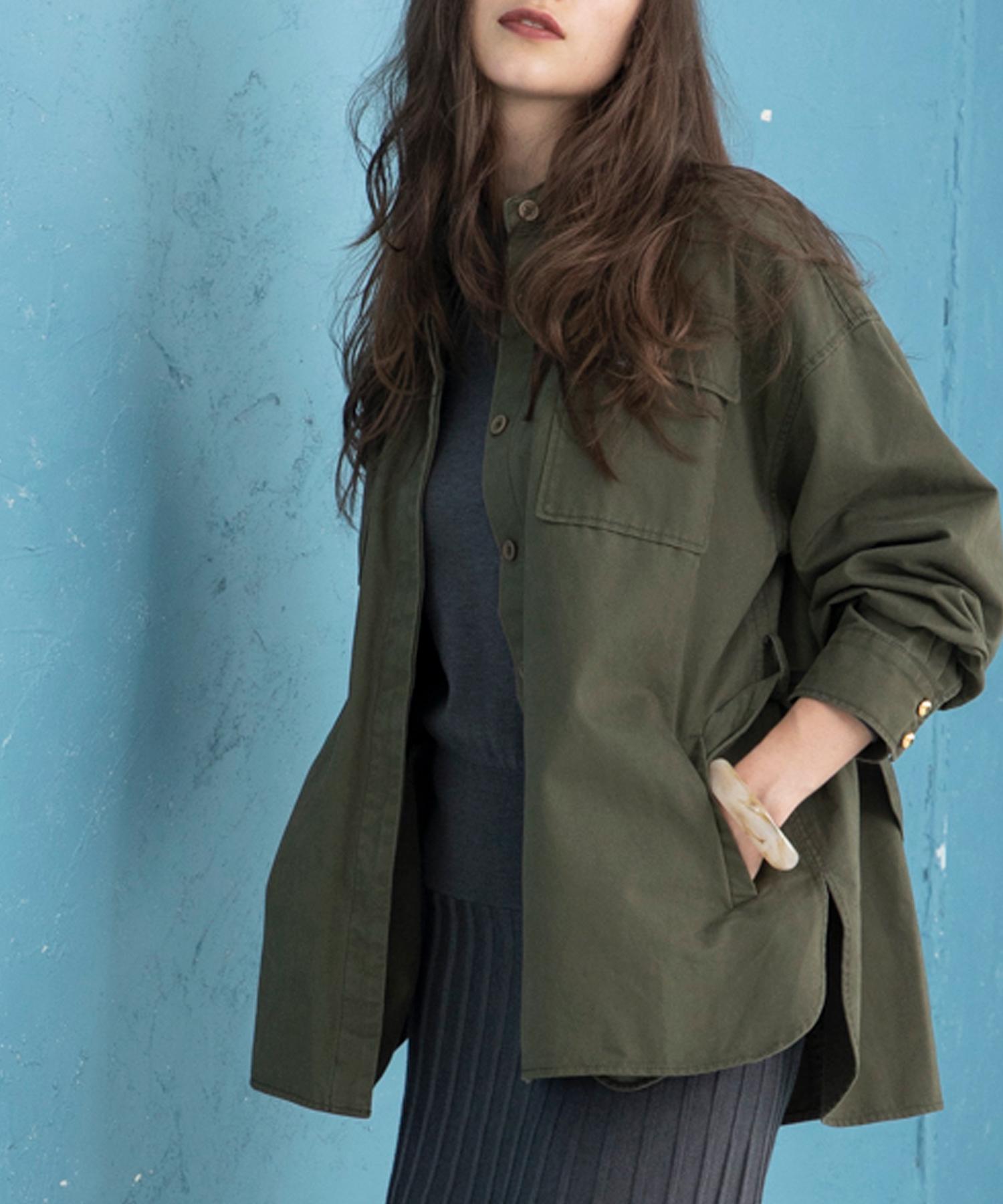ビッグシルエットCPOジャケット(オーバーサイズシャツ)