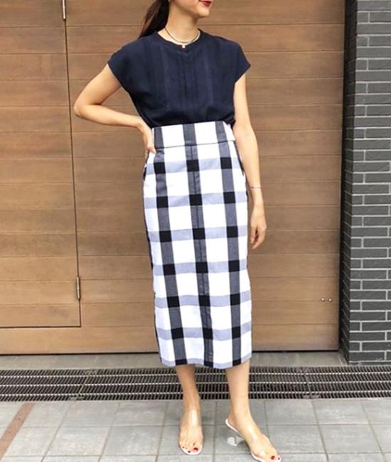 【Emma Taylor 】ビッグギンガムスカート