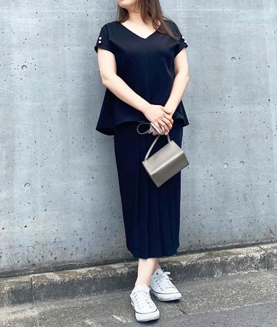 【Emma Taylor】イージーケアセットアップトップス