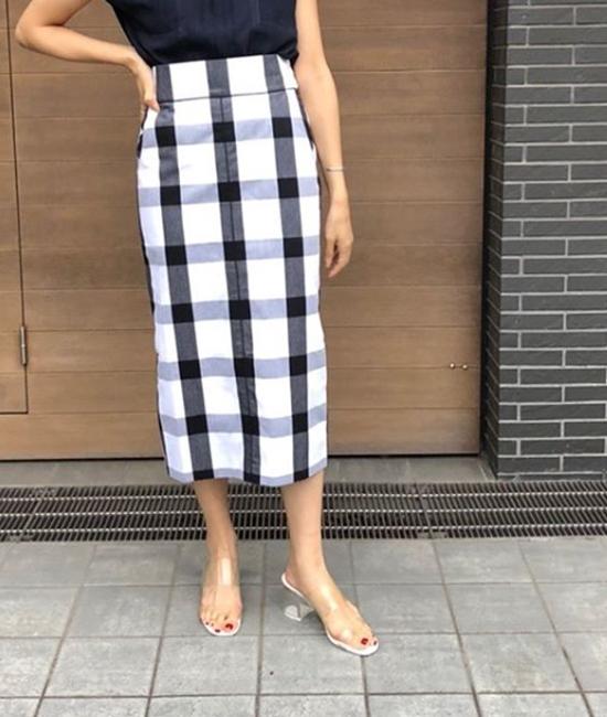 【Emma Taylor】ビッグギンガムスカート