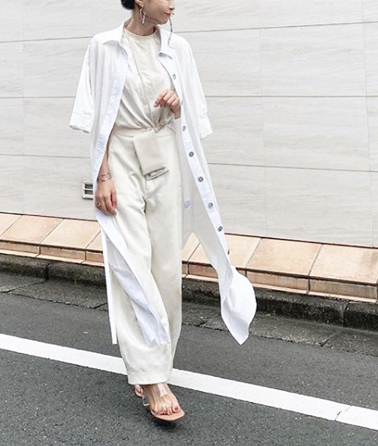 【Emma Taylor】シェルボタンシャツドレス