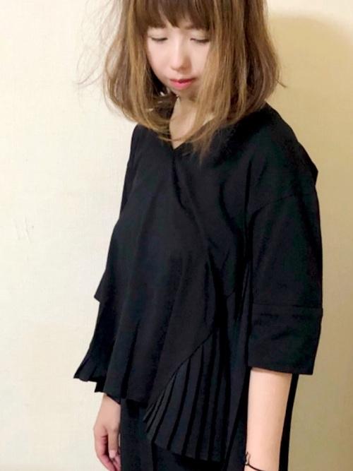 【Emma Taylor】バックプリーツプルオーバー