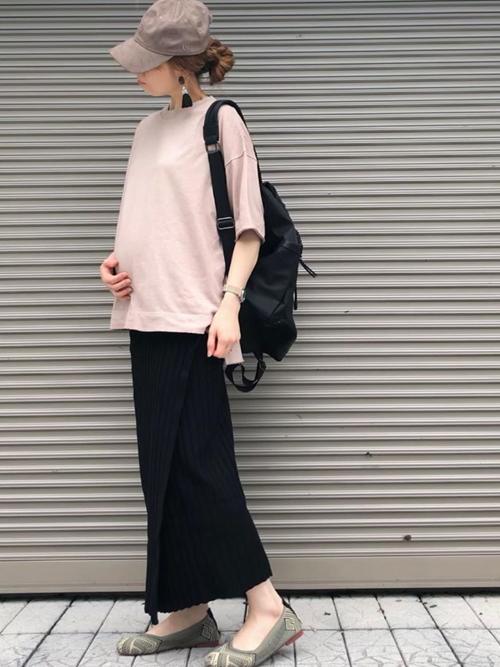 Emma Taylor  オーバーサイズクルーネックTシャツ