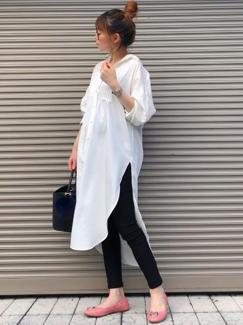 Emma Taylor  ピンタックシャツドレス